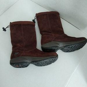Merrell Brown Suede : Snow / Winter Boots - 7.5